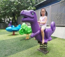 Thú nhún lò xo khủng long
