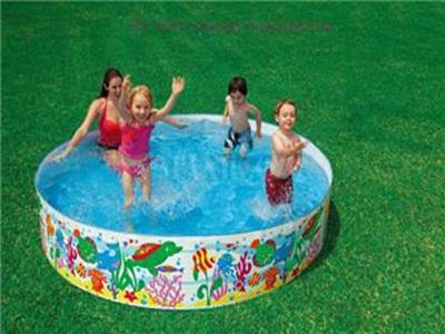 Bể bơi tròn khung sắt