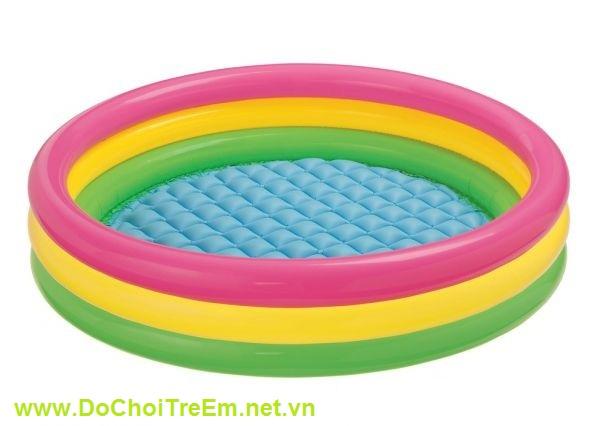 Bể bơi 3 tầng 3 màu