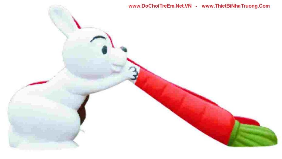 Cầu trượt thỏ và cà rốt