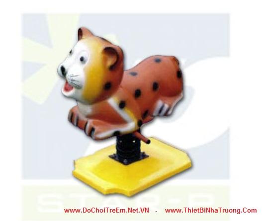 Thú nhún lò xo hình con hổ