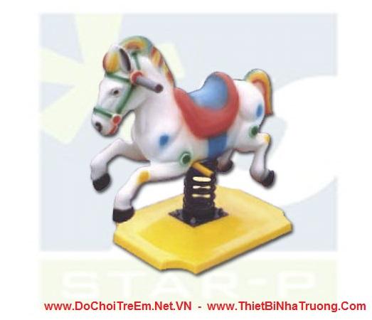 Thú nhún lò xo hình con ngựa