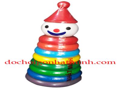 Đồ chơi hề tháp sắc màu