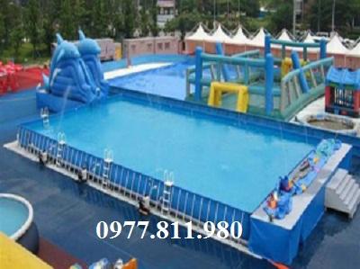 Bể bơi di động 1