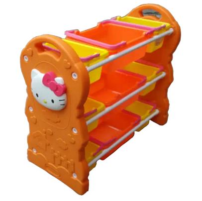 Tủ đồ chơi Hello Kitty (vàng)