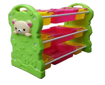 Tủ đồ chơi gấu trắng