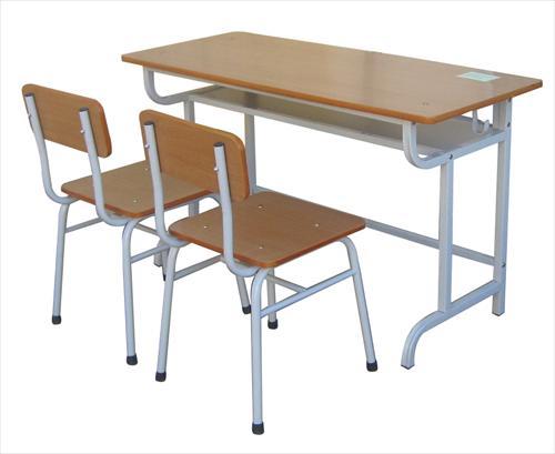Bàn học sinh ghế dời có tựa