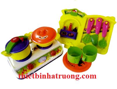 Bộ đồ chơi nhà bếp nhiều màu