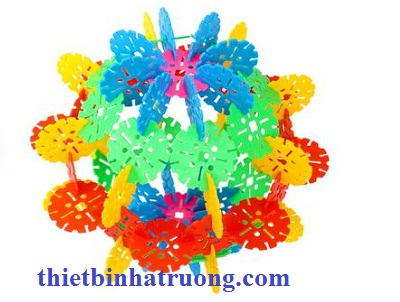 Bộ ghép hình hoa