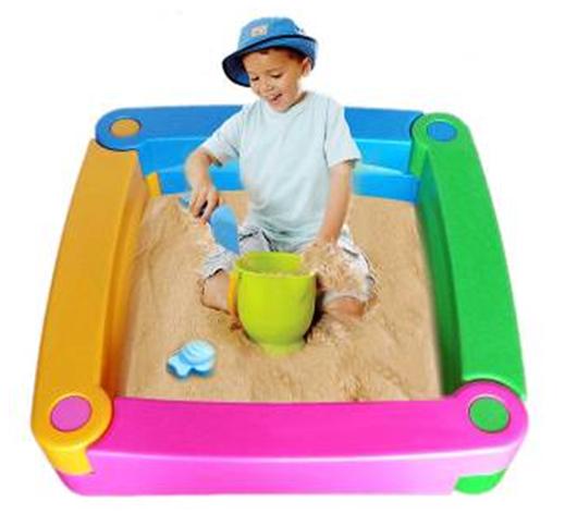 Bể chơi cát 4 khối lắp ghép