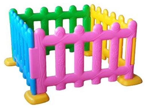 Hàng rào nhựa màu sắc