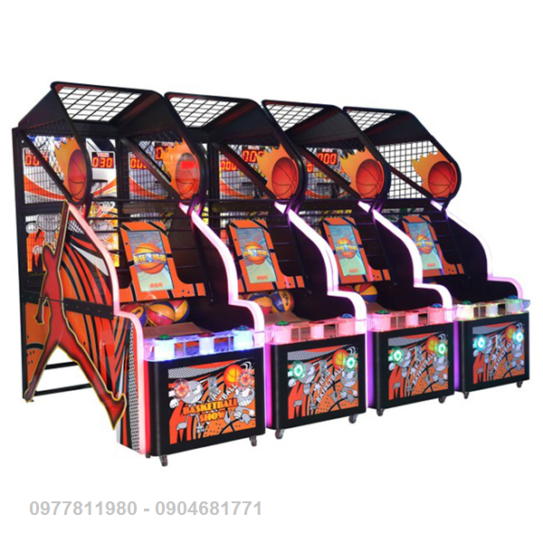 Máy Ném Bóng Rổ (LCD)