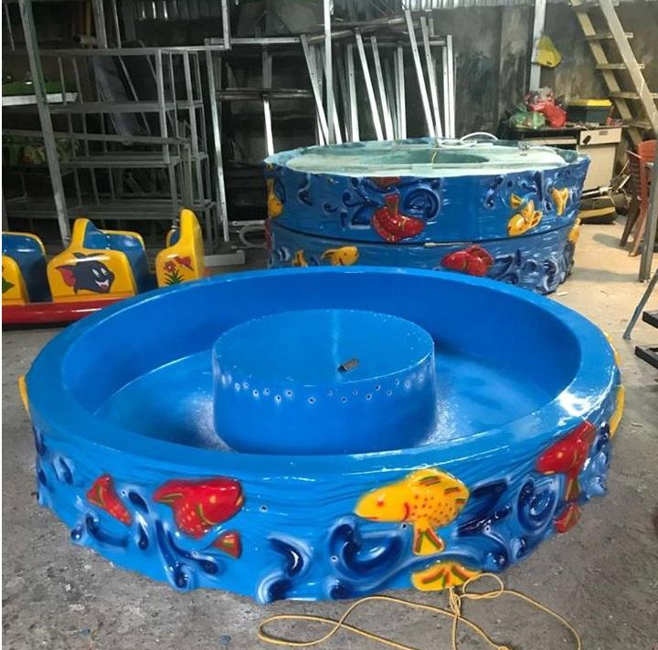 Bể câu cá composite hình tròn