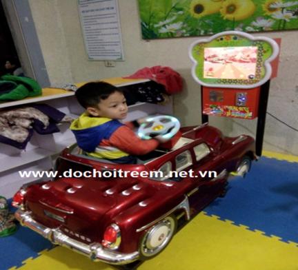 Máy nhún đua ô tô trẻ em