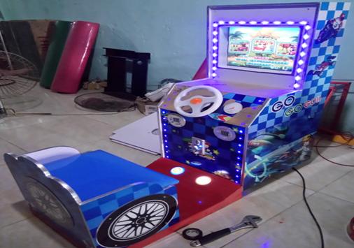 Máy đua ô tô nhiều trò