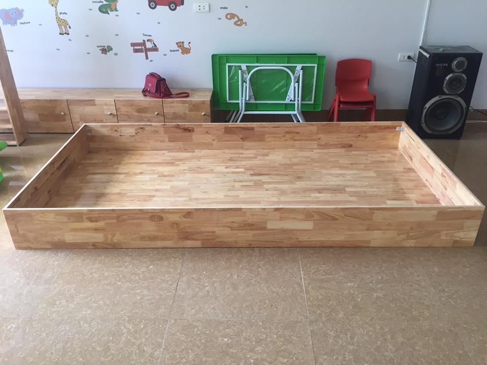 Bể chơi cát bằng gỗ