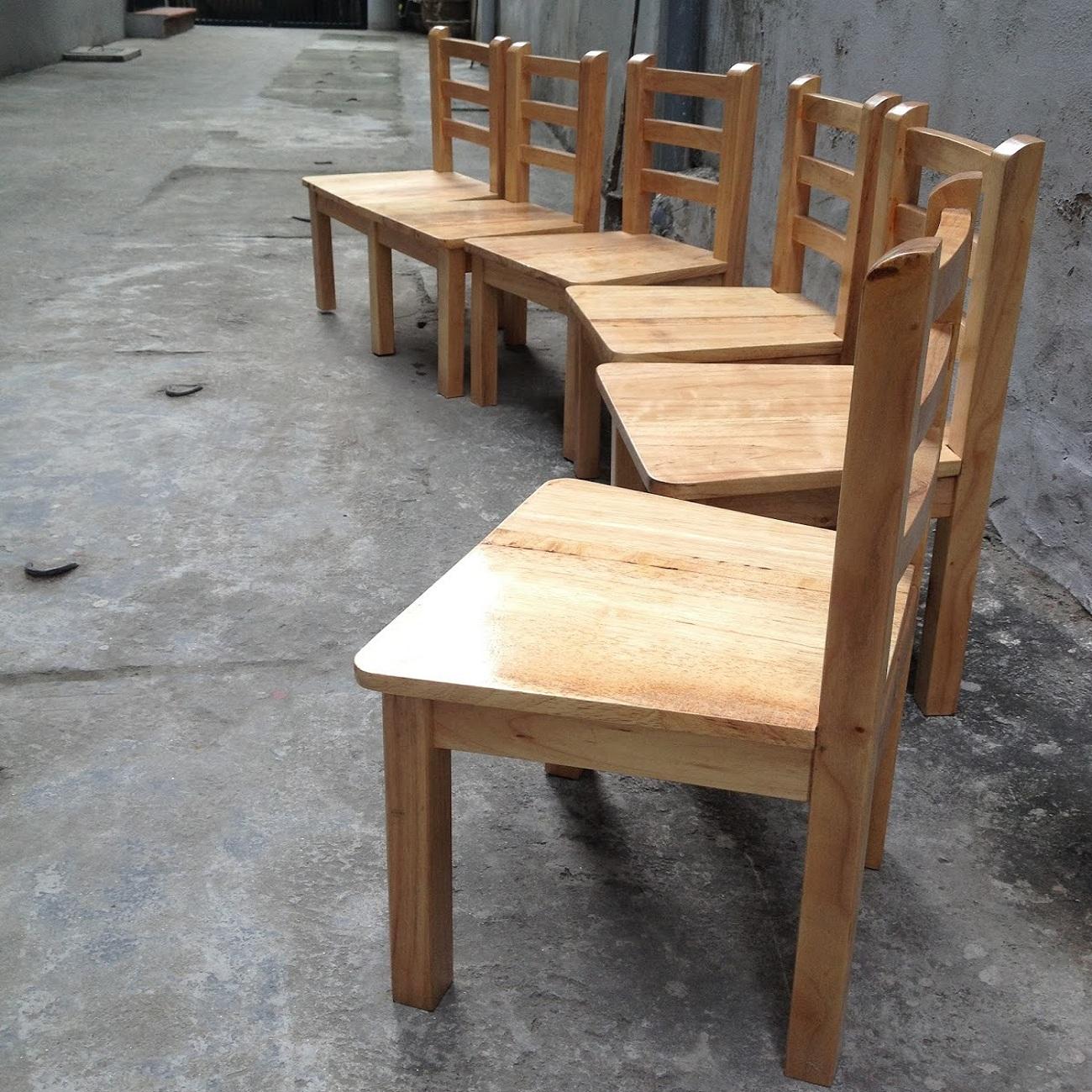 Ghế gỗ mầm  non mẫu mới